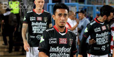 Gelandang Bali United Ini Memilih Menetap di Bali Meski Klub Libur Dua Bulan