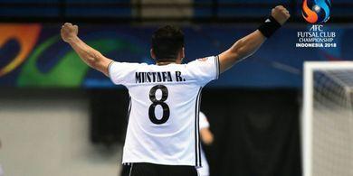 Vamos Mataram Tersisih dari Perempat Final Piala Asia Futsal dari Wakil Irak