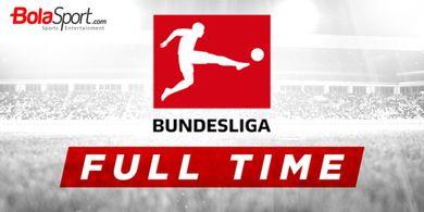 Hasil Lengkap Bundesliga - Coutinho dan Andre Silva Buka Rekening Gol