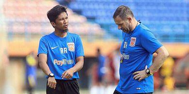 Pantau Pemain Latihan Mandiri, Asisten Pelatih Borneo FC Beberkan Kondisi Amer Bekic