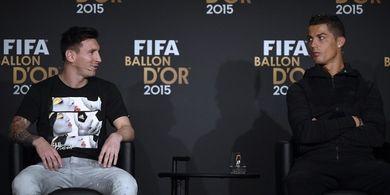 KILAS BALIK - Momen Kocak Ketika Cristiano Ronaldo Ngamuk Dikerjain Pemain Barca