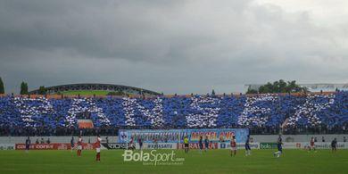 Panser Biru Sediakan Tiket Laga Uji Coba PSIS Semarang Vs Arema FC