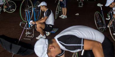 Keirin: Olahraga Jenis Balap Sepeda yang Ada Sekolahnya!