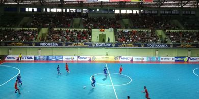 Timnas Futsal Indonesia Kalah Dramatis dari Thailand di Semifinal Piala AFF Futsal 2018