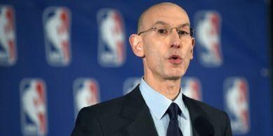 Komisioner NBA Tak Yakin Nasib Turnamen Bisa Ditentukan Sebelum Mei