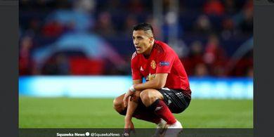 Alexis Sanchez Kehilangan Rasa Percaya Diri di Manchester United