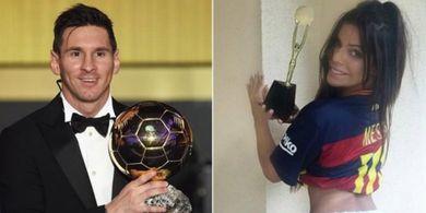 Demi Cintanya pada Lionel Messi, Model Seksi Asal Brasil Ini Lakukan Hal Tak Terduga