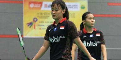 Kejuaraan Asia 2019 - Agatha/Fadia Juga Kalah pada Babak Pertama