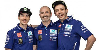 Bos Yamaha Komentari Penampilan Rossi dan Vinales di MotoGP San Marino 2019