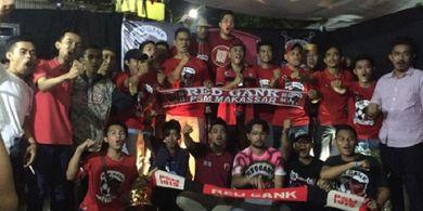The Jak Mania Bakal Ikut Kawal Suporter PSM Makassar di Jakarta