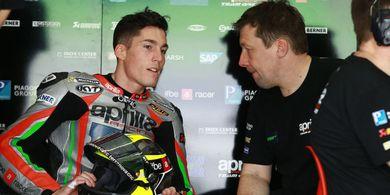 Aleix Espargaro Sebut Andrea Iannone Tak Menghormati Tim Aprilia