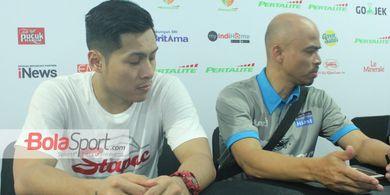 Isi Kekosongan Masa Kompetisi, Rizky Effendie Latih Para Pebasket Muda