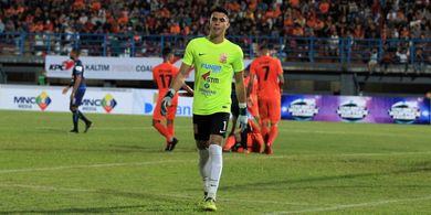 Kiper Bali United Sebut Lawan Pemain Tinggi Seperti Melbourne City Sudah Biasa