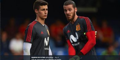 Link Live Streaming Swedia Vs Spanyol - Giliran De Gea?