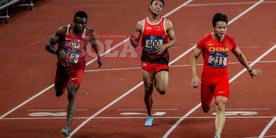 Rekornas Milik Manusia Tercepat Asia Tenggara pada Kejuaraan Atletik Asia Dipecahkan Zohri