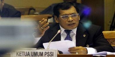 April Mop, Lelucon Nurdin Halid Pimpin PSSI dari Penjara Harus Selesai