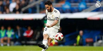 Rencana Real Madrid Usir Isco Terganjal Harga yang Kian Merosot