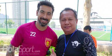 Liga Super China Jadi Akhir Karier Mantan Bintang Timnas Argentina