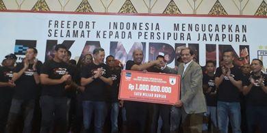PT Freeport Kembali Jadi Sponsor Utama Persipura Jayapura Musim 2020