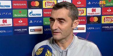 Melawan Klub Guram Pun Valverde Tak Mau Barcelona Salah Tingkah