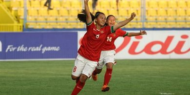 Timnas Putri Pesta Gol ke Gawang Maladewa dan Puncaki Klasemen