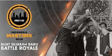 Daftar Free Fire Indonesia Master 2019 untuk Berangkat ke Thailand