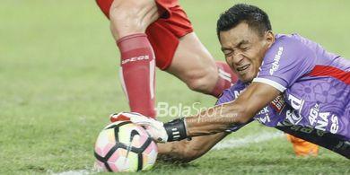 Kiper Bali United Berharap Tak Kebobolan Saat Hadapi Persela