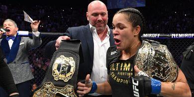 Satu Kelas Batal Bubar, Ratu UFC Sabar Tunggu Tumbal Berikutnya