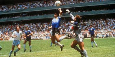 Persija Jakarta Dua Kali Kena Gol Tangan Tuhan ala Diego Maradona