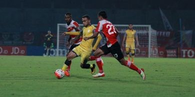 Barito Putera Tanpa Rizky Pora saat Menjamu Badak Lampung FC