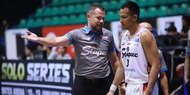 Pelatih Stapac Jakarta Sebut Timnya Menang Beruntung atas Bima Perkasa