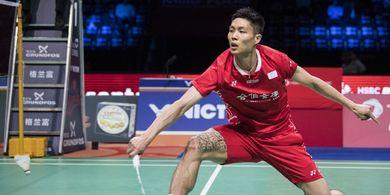 Hasil Indonesia Open 2019 - Atasi Wakil Thailand, Chou Tien Chen ke Final