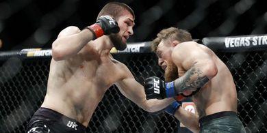Di UFC 229, Leonardo DiCaprio Nyaris Jadi Korban Khabib Nurmagomedov