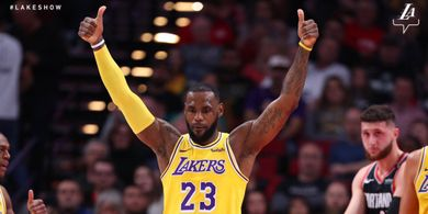 LeBron James Jadi Pebasket Pertama Ukir Triple-Double ke 30 Tim NBA