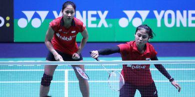 Hasil Kejuaraan Beregu Campuran Asia 2019 - Ketut/Rizki Pastikan Kemenangan Indonesia atas Thailand