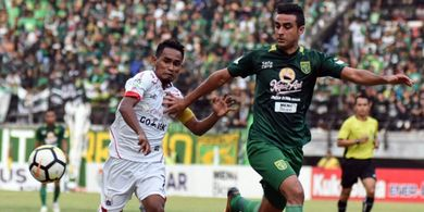 Bek Persebaya Surabaya Tak Silau  Kekuatan PS Tira-Persikabo
