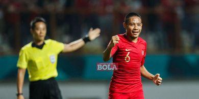 Jadi Andalan Timnas Indonesa Lintas Generasi, Evan Dimas Tuai Pujian Pelatih Brasil