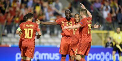 Starting XI Belgia Vs Rusia - Ajang Pembuktian Hazard Bersaudara