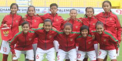 Garuda Pertiwi Buka Peluang Lolos ke Semifinal AFF U-16 Girls Championship