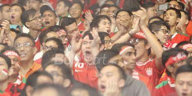 Suporter Timnas Indonesia Diharapkan Penuhi Tribun SUGBK Saat Hadapi Malaysia