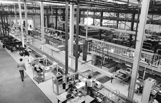 Pabrik Apple di California, 1984