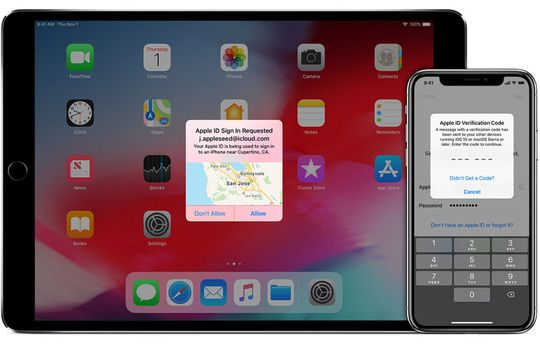 Two-Factor Authentication di Apple ID