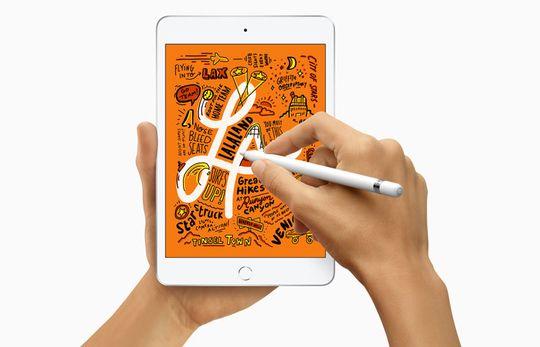 iPad Mini 5, Mendukung Apple Pencil