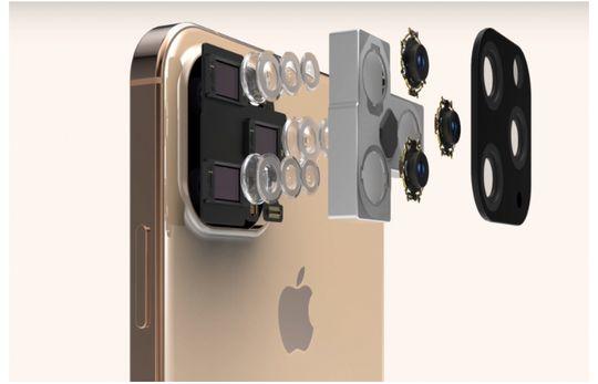 Rumor desain iPhone XI / 11 dengan menggunakan 3 kamera