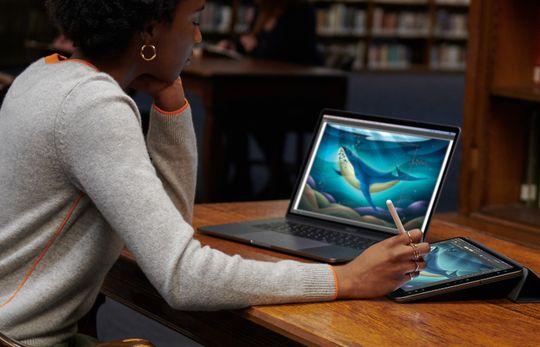 Fitur Sidecar di Mac dan iPad