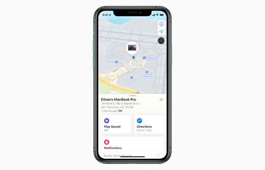 Find My di iPhone juga dapat digunakan mencari MacBook pengguna