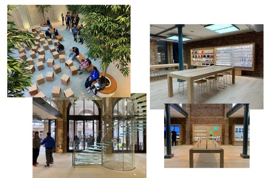Desain Apple Convent, jadi percontohan desain Apple Amsterdam
