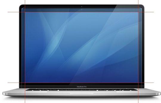 Perbandingan ukuran MacBook Pro 15 dan 16 inci