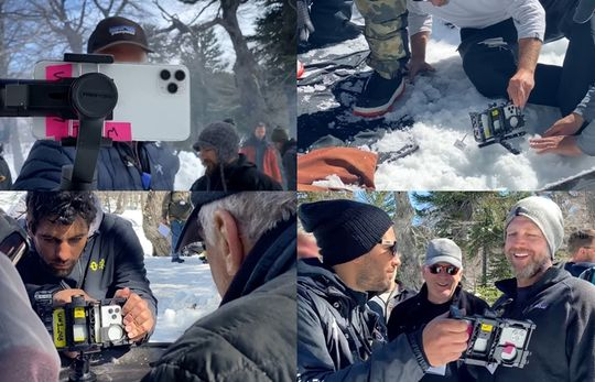 Dibalik layar pembuatan Shot on iPhone 11 Pro — Snowbrawl