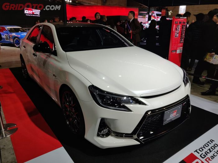 Toyota Mark X modifikasi Gazoo Racing